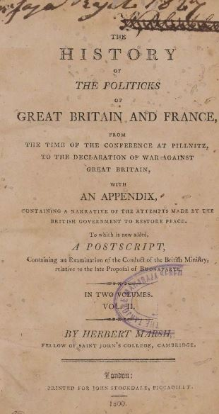 The History of the politicks of great britain and france