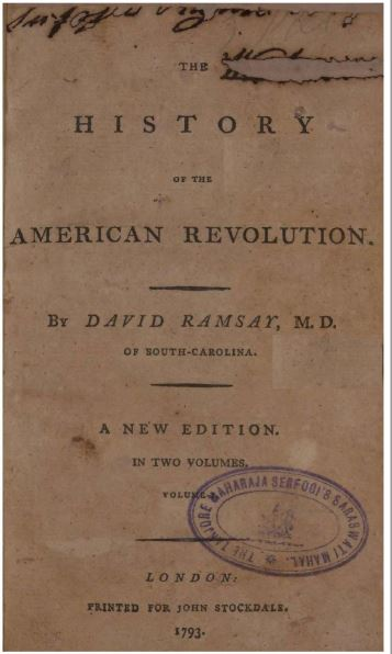 The history of American revolution