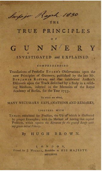 The true principles of gunnery investigated and explained