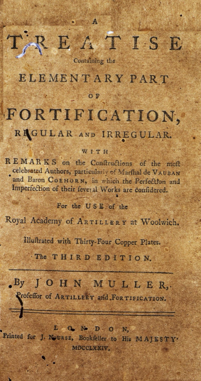 A treatise containing the elementary part of fortification, regular and irregular